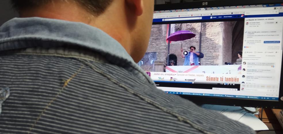 La retransmisión de la bajada de Celedón en EL CORREO llega a los cinco continentes