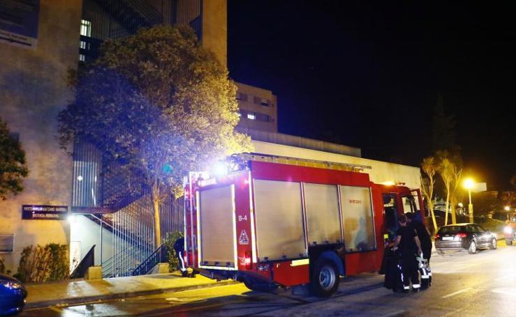 Un incendio en la sala de lencería obliga a desalojar Urgencias del hospital de Txagorritxu