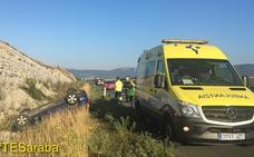 Seis heridos en una colisión múltiple en la A-1 en Vitoria