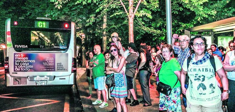 Las paradas 'anti-acoso' arrancan el trayecto