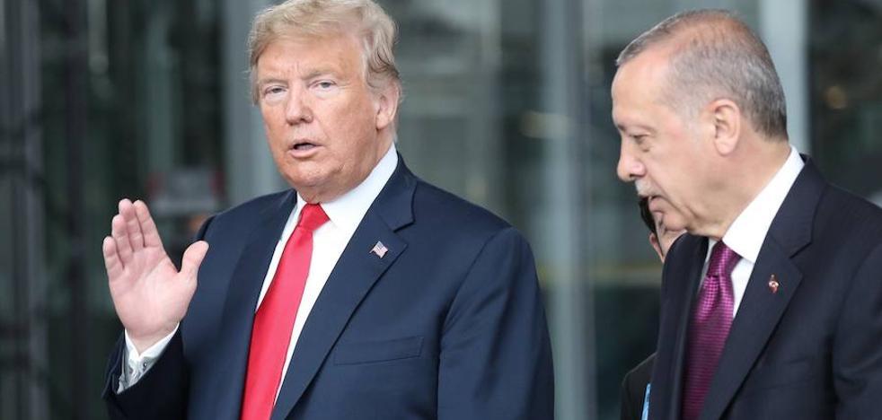 Duelo de egos: Erdogan-Trump