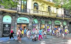 El Corte Inglés pone precio a su edificio del número 20 de la Gran Vía bilbaína