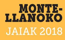 Programa de fiestas de Galdames 2018: Montellano Jaiak