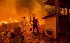 California batalla contra el mayor incendio de su historia