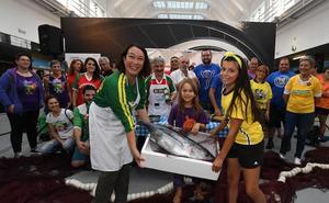 El 'Arrain Fish Festival', el concurso estrella de la Aste Nagusia