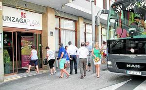 La ocupación hotelera en Eibar roza el completo en los meses de verano