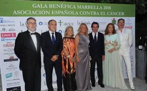 Gala marbellí contra el cáncer