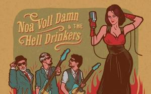 Noa Voll Damn & The Hell Drinkers taldea, gaur, Gasteizen