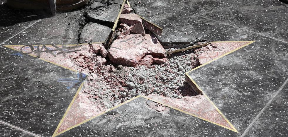 A Trump le quieren quitar su estrella