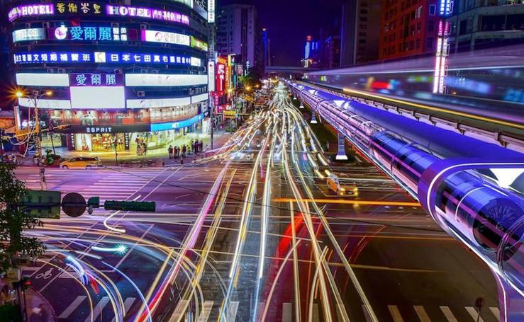 Así es Hyperloop, el tren futurista que llegará a España