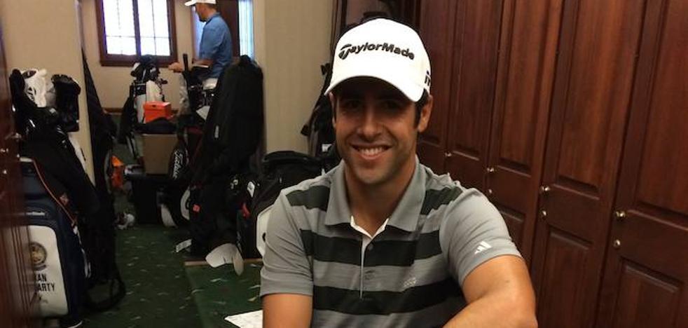 Adrián Otaegui: «No me impresiona cruzarme con nadie en el vestuario»