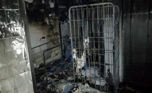 Ingresa en prisión el autor del incendio en Txagorritxu