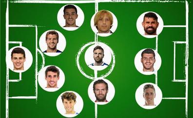 Siete vascos, en el once de los españoles más caros de la historia del fútbol