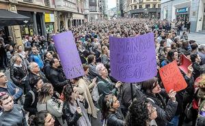 Las denuncias por violación crecen un 20% en Bizkaia respecto a 2017