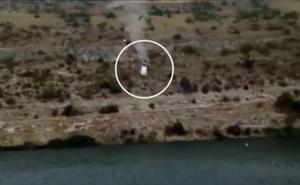 Detienen al conductor del coche que cayó a un pantano en Cuenca con una mujer en su interior