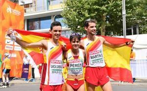 La gran exhibición de la marcha española