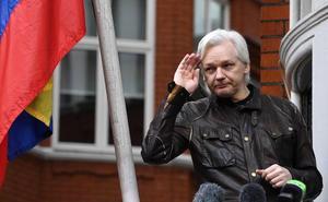 Assange, viacrucis y crucifixión