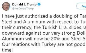 Turquía, la nueva víctima de Trump