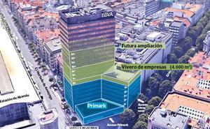 La torre del BBVA albergará un centro tecnológico de referencia en Europa