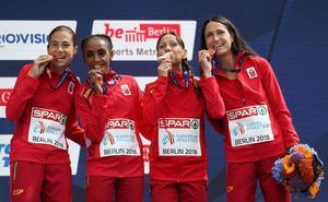 Las atletas del BM llevan a España al bronce