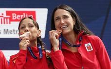 La alavesa Elena Loyo logra la medalla de bronce por equipos en el maratón del Europeo de Berlín