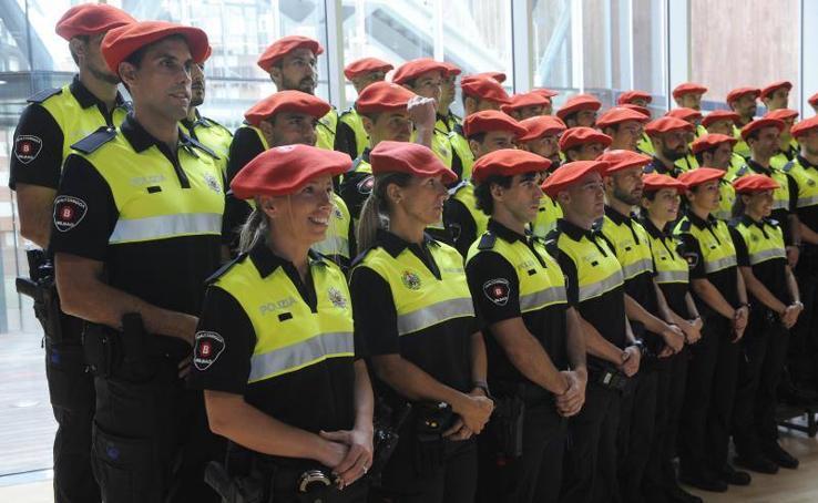 76 nuevos agentes se incorporan a la plantilla de la Policía Municipal de Bilbao