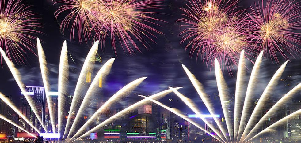 Una pirotecnia alavesa, segunda en el 'mundial' de fuegos artificiales de Mónaco