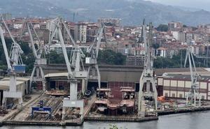 La Naval y Van Oord retomarán en septiembre las negociaciones para acordar la finalización de la draga en Sestao
