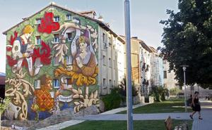 Se abre el plazo de presentación de proyectos para la elaboración de un nuevo mural en Vitoria