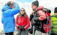 El alpinista Roberto Rodrigo se encuentra «estable» tras su grave accidente de helicóptero en Tayikistán