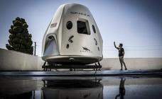 Así luce la nueva nave espacial Crew Dragon