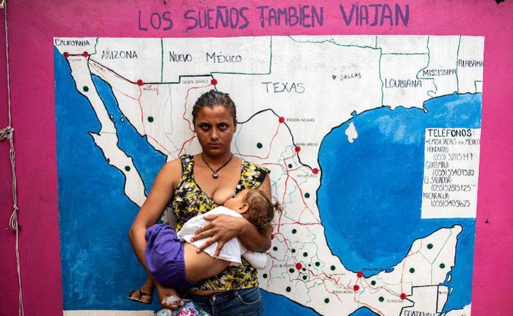 24 horas con migrantes en México