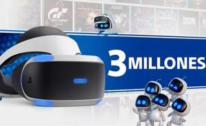 PlayStation VR supera los 3 millones de unidades vendidas