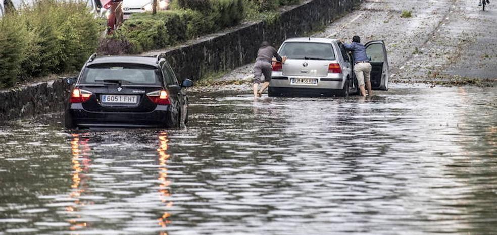 Vitoria no activó el protocolo de limpieza de alcantarillas en las inundaciones de julio