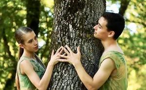Danza y naturaleza se unen para celebrar el 25 aniversario del Anillo Verde de Vitoria