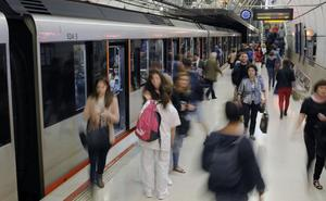 El metro circulará sin parar en Aste Nagusia