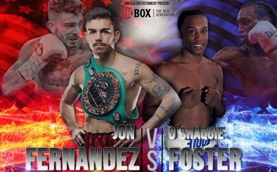El combate entre Jon Fernández y O'Shaquie Foster, cabeza de cartel el 21 de septiembre en Oklahoma