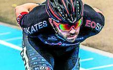 Patxi Peula, campeón de Europa de patinaje en Ostende