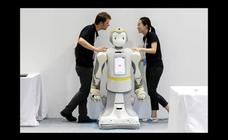 Robots inteligentes invaden Pekín