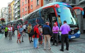 Las conexiones en autobús con las fiestas de Arrate serán reforzadas