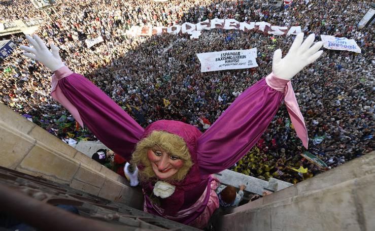 Aste Nagusia: las mejores imágenes del txupinazo