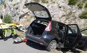Evacuado en helicóptero al hospital Santiago de Vitoria un hombre tras sufrir un accidente en Labastida