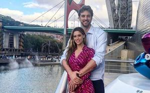 Pau Gasol y su novia, maravillados con el Guggenheim