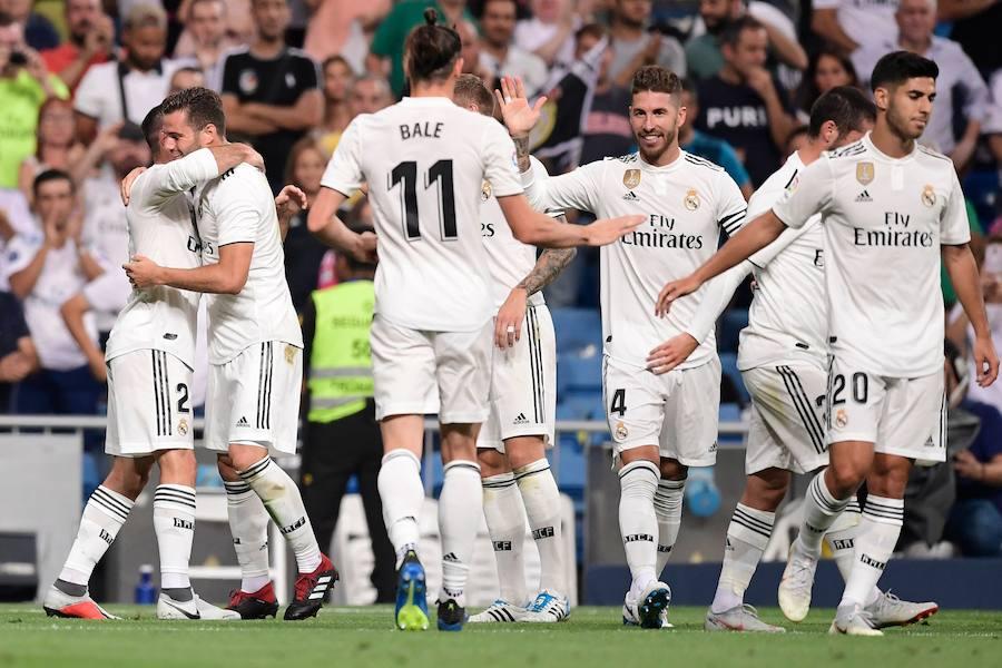 Las mejores imágenes del Real Madrid-Getafe