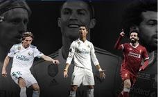 Modric, Cristiano y Salah, candidatos a mejor jugador del año de UEFA
