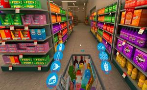 Patentan el primer supermercado de realidad virtual
