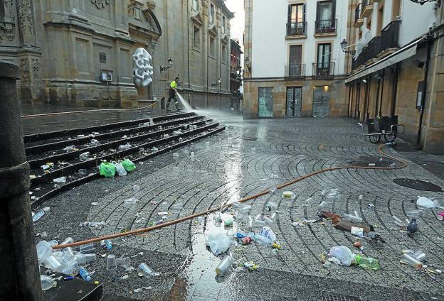 Imputan agresión sexual a los dos menores detenidos por violar a una chica de 15 años en fiestas de San Sebastián