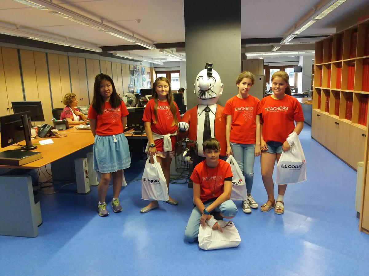 Visita centro Academia Teachers (Vitoria-Gasteiz) - 17 de julio de 2018