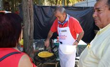 El Arenal prepara las mejores tortillas de la Aste Nagusia