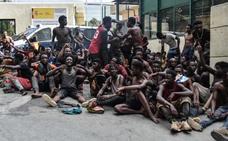 España expulsa por primera vez a un grupo de subsaharianos por violar la valla